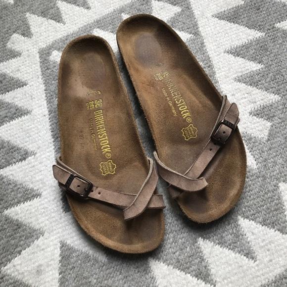 f28e717e7b2d Birkenstock Shoes - Rare Birkenstock Piazza Taupe 38